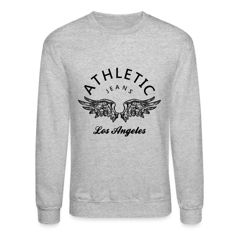 Athletic jeans los angeles sweatshirt spreadshirt for Los angeles long sleeve shirt