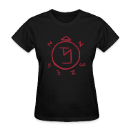 Women's T-Shirts ~ Women's T-Shirt ~ Angel Banishing Sigil - Women's