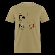 T-Shirts ~ Men's T-Shirt ~ Iron & Salt - Men's