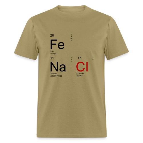 Iron & Salt - Men's - Men's T-Shirt