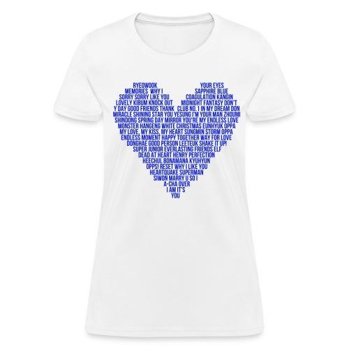 SJ Heart - Women's T-Shirt