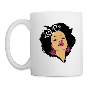 SN&LI! Retro Afro Mug - Coffee/Tea Mug