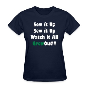 SN&LI! Sew It Up  - Women's T-Shirt