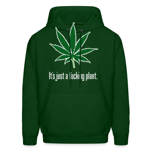 Just A Plant W - Men's Hoodie