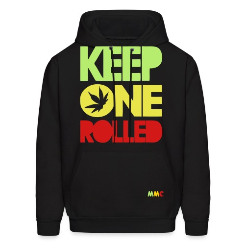 kep one rolled - Men's Hoodie