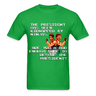 T-Shirts ~ Men's T-Shirt ~ Bad Dudes Design 2