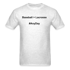 Men's Baseball  Lacrosse T-Shirt - Men's T-Shirt