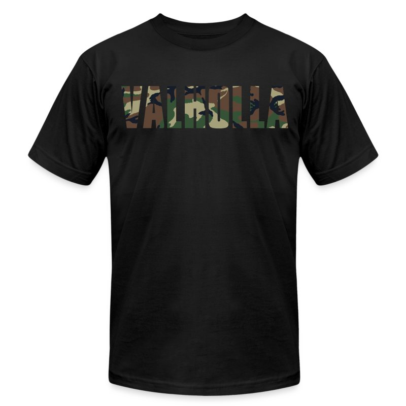 Men's Valholla Camo Tee by American Apparel *Limited Edition* - Men's Fine Jersey T-Shirt
