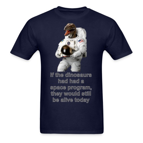 spacedino2013a - Men's T-Shirt