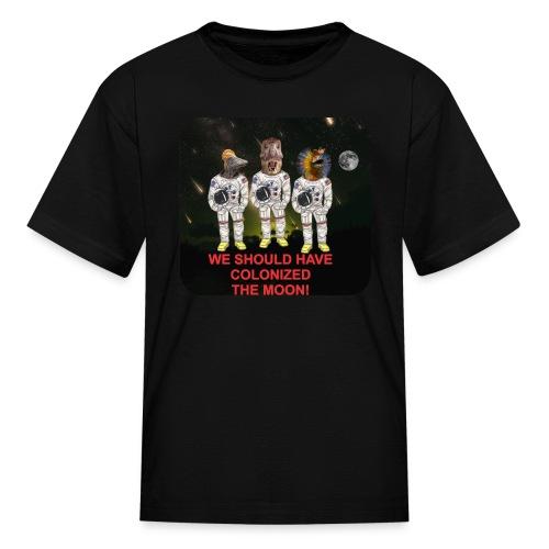 spacedino6shc - Kids' T-Shirt