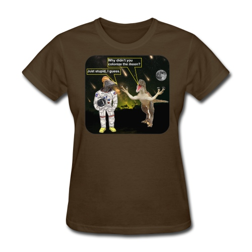 spacedino7shf - Women's T-Shirt