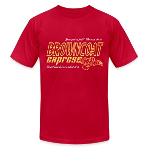 Browncoat Express - Men's T-Shirt by American Apparel