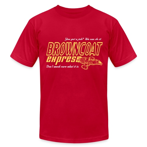 Browncoat Express - Men's Fine Jersey T-Shirt
