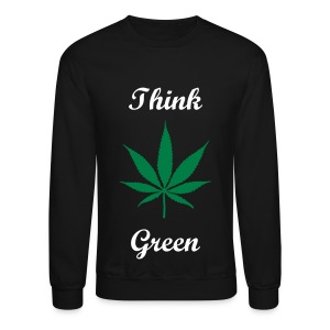 Think Green - Crewneck Sweatshirt