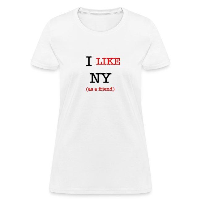 I Like NY (as a friend)