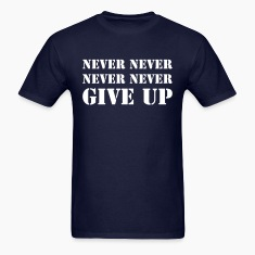 Never never never never give up
