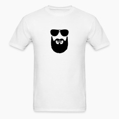 Beard Sunglasses T-Shirts