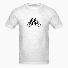 Tandem Bicycle bike T-Shirts
