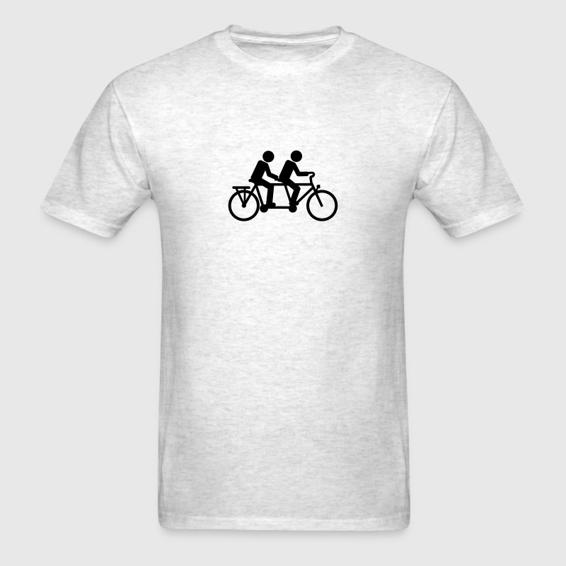 Tandem Bicycle bike T-Shirts - Men's T-Shirt