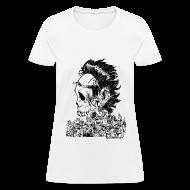 T-Shirts ~ Women's T-Shirt ~ Crouching Redneck, Hidden Badass