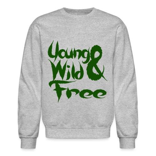 YOUNG WILD & FREE CREWNECK - Crewneck Sweatshirt