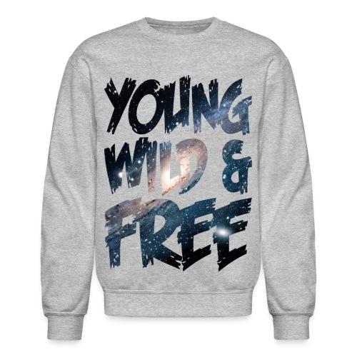 SPACE YOUNG WILD & FREE CREWNECK - Crewneck Sweatshirt