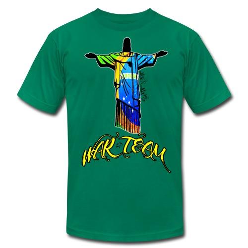 Cristo Redentor M&S WARTEAM! - Men's Fine Jersey T-Shirt