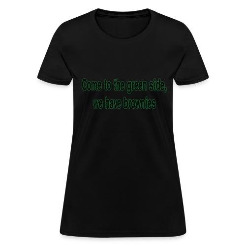 Women's The Green Side tshirt - Women's T-Shirt