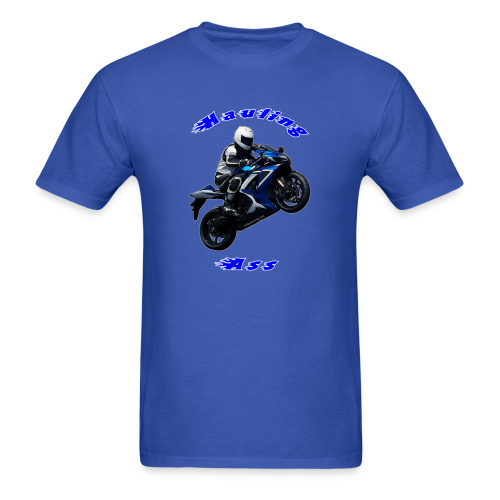 Men's T SportBlue Hauling Ass (Front) - Men's T-Shirt