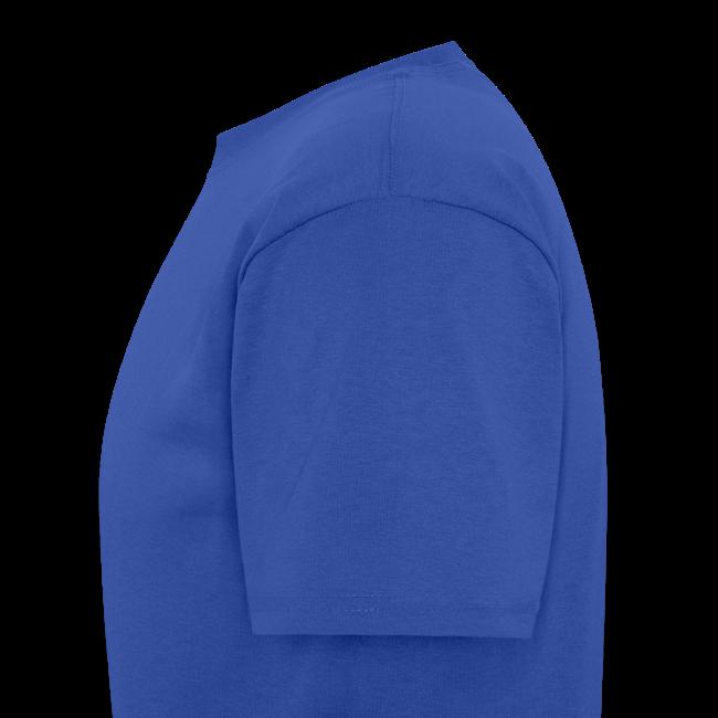 Men's T SportBlue Hauling Ass (Front)