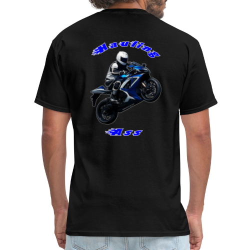 Men's T SportBlue Hauling Ass (Back) - Men's T-Shirt