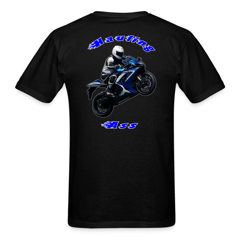 Men's T SportBlue Hauling Ass (Back) - Men's T-Shirt