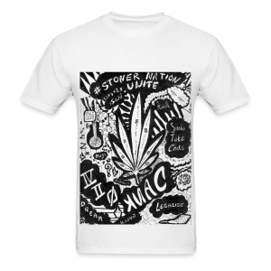 Stonernation by @dankraven420 - Men's T-Shirt