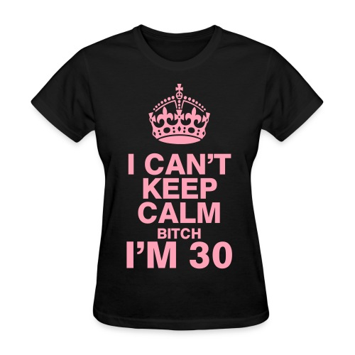 Keep Calm BDAY women - Women's T-Shirt