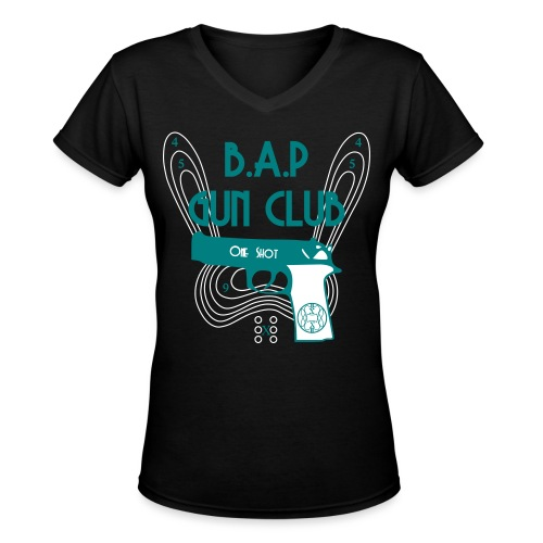 BAP Gun Club - Women's V-Neck T-Shirt