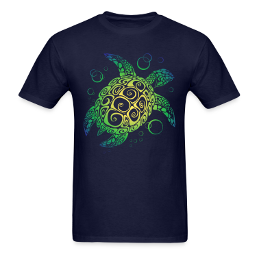 Sea turtle t shirts t shirt spreadshirt for Turtle t shirts online
