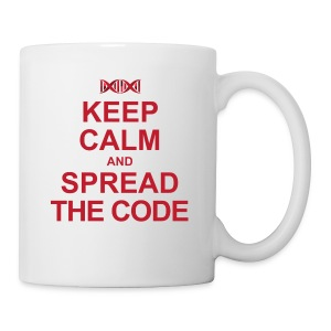 Spread the code Liquid stimulant bin - Coffee/Tea Mug
