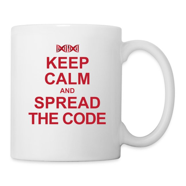 """""""Spread the code"""" Liquid stimulant bin"""