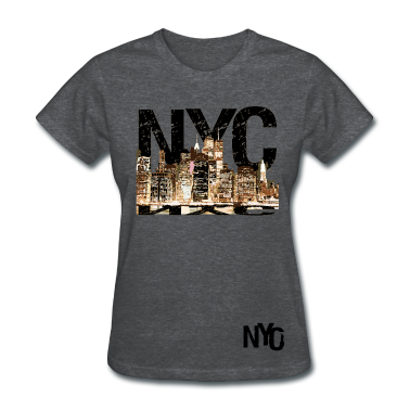 NYC Women's Standard Weight T-Shirt