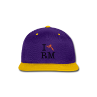 Sportswear ~ Snap-back Baseball Cap ~ I Heart Running Man