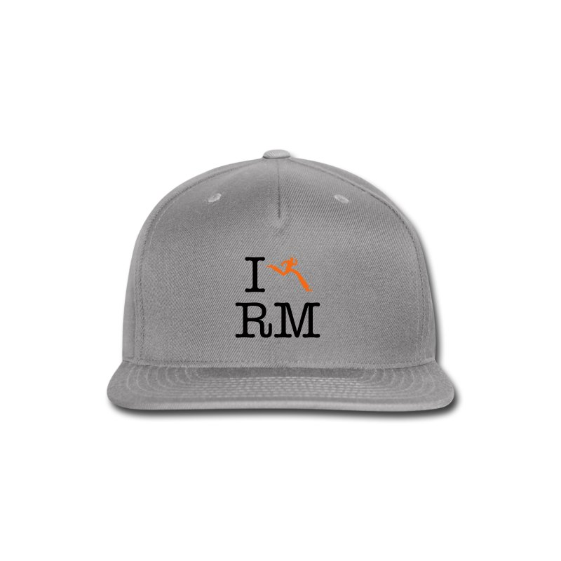 I Heart Running Man - Snap-back Baseball Cap