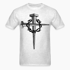 Nail Cross T-Shirts