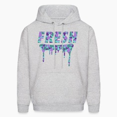 Fresh Drips Purple Camo Hoody