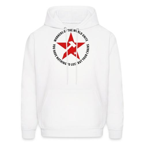Marxist Star Hoodie - Men's Hoodie