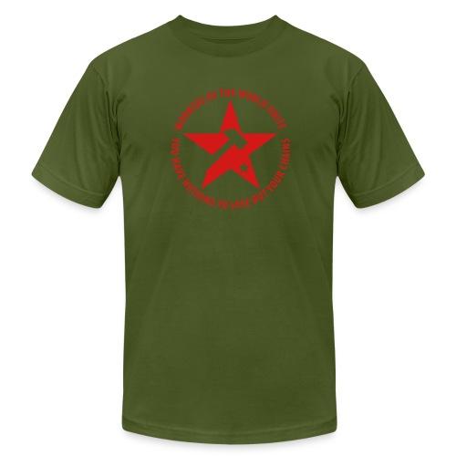 Marxist Star Jersey Tee - Men's Fine Jersey T-Shirt