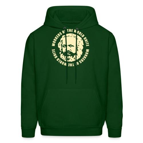 Karl Marx Slogan Hoodie - Men's Hoodie