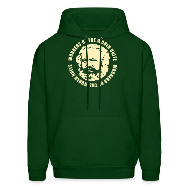 Karl Marx Slogan Hoodie