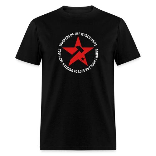 Marxist Star T-Shirt - Men's T-Shirt