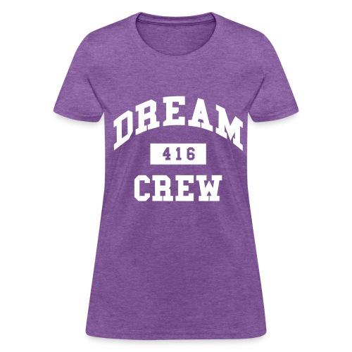 Women's Relaxed fit standard weight shirt Dream Crew | Major Tees - Women's T-Shirt