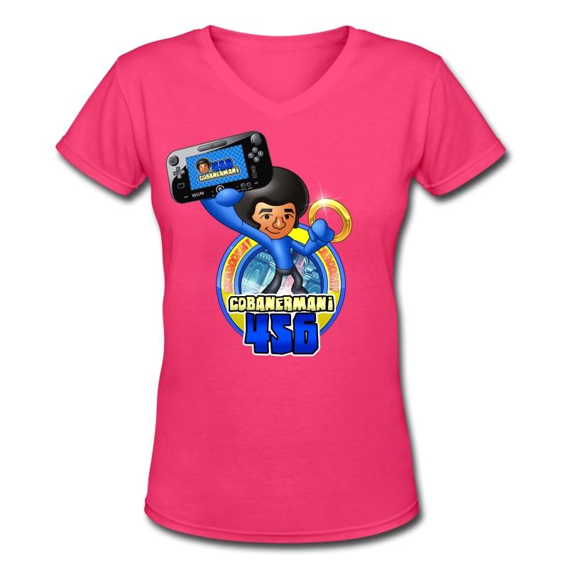 FULL_MERGED.png - Women's V-Neck T-Shirt